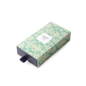 High Grade Paperboard Drawer Gift Boxes Handmade Soap Packaging Box 8.5*16.5*3.5CM wen6584