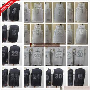 Lebron MVP 23 James 13 Harden Michael Jersey Stephen 30 Curry Wade Nowitzki Durant Irving Antetokounmpo Westbrook Jerseys