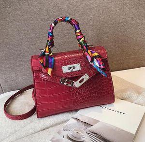 High Quality Crocodile Shoulder Bags Female Messenger Women Bags fashion Alligator Bags Anti-theft Handbags tote bag Sac a main