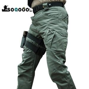 Soqoool City Militärische Taktische Hosen Männer Swat Combat Armee Hose Männer Viele Taschen Wasserdichte Verschleiß Widerstand Casual Cargo Pants 201109