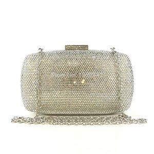 OC4172 Wholesale Online Fashion Rhinestone Crystal Evening Clutch Bag Women