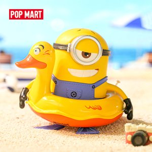 POP MART Minions Holiday Blind Box 1 Piece Despicable Me Action Kawaii Figure Gift Kid Toy Z1120 Z1120