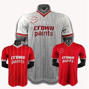 1981 1982 1982 1983 1984 1985 1986 Ian Rush Dalglish Robinson Whelan Retro Fussball Jersey Kennedy Thompson Souness Vintage Classic Football Shirt