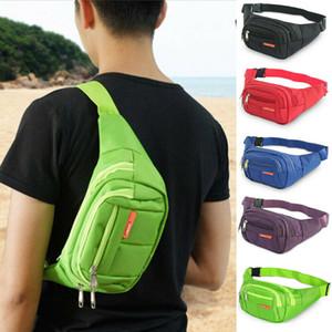 New Fanny Pack Mens Womens Waist Hip Belt Bag Purse Pouch Travel Sport Bum Nylon Waist Bag
