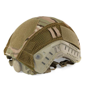 Tactical Military Covers Camouflage Cover Airsoft Paintball Shooting Accessory For FAST MH PJ Helmet New