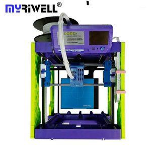 MyRiwell طابعة 3D Pla 1.75mm FDM STL دعم طابعة ميني 3D1