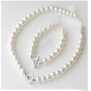 Pearl Fashion Faux Springs Jewelry Necklace Bracelet Wedding 10set lot Pick & Set U bbyBF bde_home