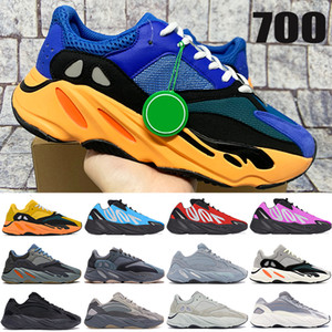 New Bright Blue sun 700 v1 v2 MNVN running shoes carbon blue Tie-dye OG Solid Grey vanta reflective mens sneakers womens trainers