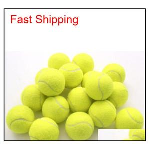Training Standard Tennis Ball Rubber Good Bounce 1.3 Meters Durable Tennis Playing Official Ball Neon Yellow qylZPu garden2010