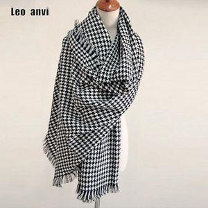 2020 Scarf for Women plaid bufandas mujer black Houndstooth warm scarf women winter scarves shawls Blanket