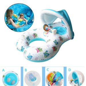 Mother And Baby Swimming Ring Floating Swim Pool Accessories Circle Inflatable Wheels Swimtrainer Circles Toy Z1202