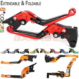 Levers For Gilera GP 800 2007-2009 2008 CNC Folding Extendable Clutch brake Adjustable1