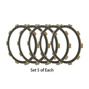 5 Pcs Motorcycle Engine Parts Clutch Friction Plates Fit For AS2 AT1 AT2 AT3 DT100 DT125 RD200 MX175 Replace 3HA-16321-001