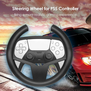 Games Accessories Racing Steering Wheel Durable Game Remote Controller Driving Handle for 5 PS5 Gamepads