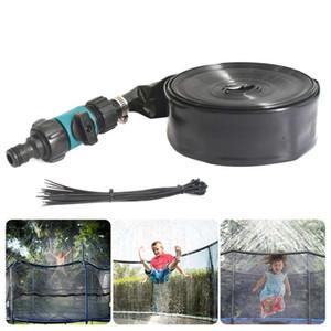 Trampoline Sprinkler Summer Water Sprinkler 8 12 15m Outdoor Garden Water Game Park Accessories Toys for Children