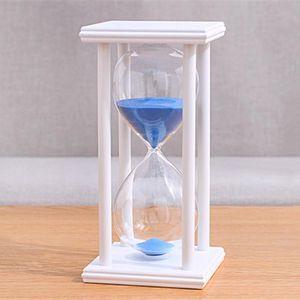 Wooden Sandglass Sand Hourglass 45 60 Minute 20.5*10*10 Countdown Timer Clock Xmas Birthday Gift Home Decoration Reloj De Arena
