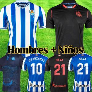 Real Sociedad 2020 2021 third OYARZABAL X PRIETO PORTU 3rd Soccer Jersey DAVID SILVA ODEGAARD JUANMI 20 21 camiseta de futbol Football Shirt