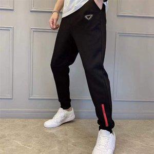 Mens Cargo Pants Sport Блестки Бадж Trouse письма Карман Side Street Wear Hip Hop Тренировочные штаны Мужская мода Joggers Два типа