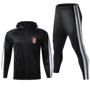 S.C.-Braga 2020 suit training suit long style can DIY any pattern men's casual sports running clothes fashionable men's suit