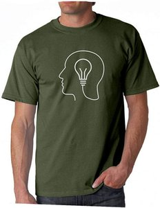 Mens Thinking Diagram Anatomy Strategic Mind Circuit Short Sleeve Crew Neck T-Shirts Man Fashion Novel Casual Sportswear Tops Tee Shirts