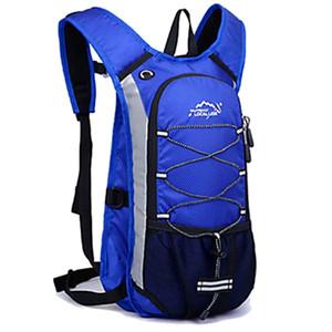 Men's Women MTB Bike Waterproof Bicycle Backpack Rucksack Hiking Camping Outdoors Cycling Bags Sport Polyster Cycling Backpack