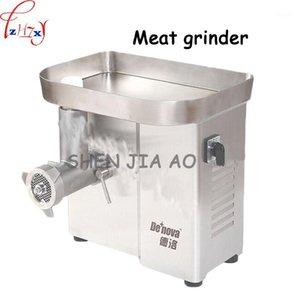 1 ADET 1100 W DM-22 Yüksek performanslı Tüm-Paslanmaz Çelik Masaüstü Et Öğütücü Restoran Et Kesme Temel Ekipmanları1