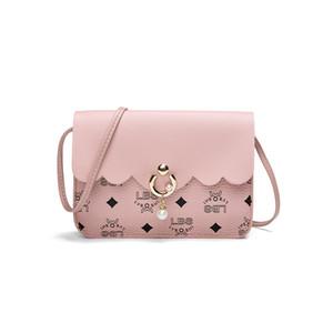 new designer mobile phone bag pearl printing ladies mobile phone bag shoulder simple lace luxury designer mobile phone bag