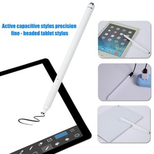 Universal Capacitive Touch S Pen Rechargeable Writing Stylus for Phones Tablets