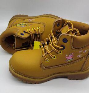 2020 Sponge Childrens Invierno Botas cálidas Best-Sling Sneaker Store Ventas 20 aniversario Niños de herramientas Botas Tamaño 26-35