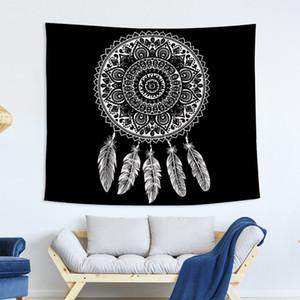 Bohemia Printing Tapestry Fabric Art Mandala Beach Towels Eco Friendly Opp Packages Tapestries Popular High Quality 19glb J1