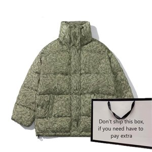 Parkas Women 2020 Winter Down Puffer Jackets and Down Vests Womens Fashion Coat Classic Letter Pattern Men Outerwear