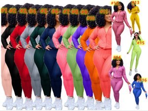 Women Plain Tracksuits (have mask) Yoga Outfits 2 Piece Sets Jogger Suit Fall Winter Clothing Long Sleeve Sports Set Casual Sweatsuits 4432