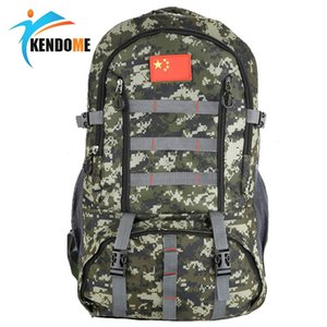 60L Military Tactical Backpack for Hunting Sports Bag Camping Hiking Backpacks Camo Army Molle Pack Outdoor Cycling Travel Bolsa Y200920