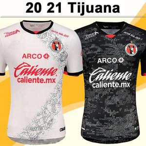 20 21 Mexique XOLOS DE TIJUANA Jersey Soccer Rivero Lucero Bolanos Accueil Rouge Élevé Chemises de football blanc Mexicain Camisetas de Fútbol Uniformes