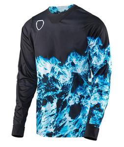 Motosiklet yokuş aşağı forması açık gömlek erkek yaz dağ bisikleti kros motosiklet yarış takım özelleştirme