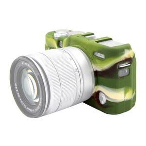 Étui de protection en silicone doux de Puluz Fengling pour Fujifilm X-A3 X-A10