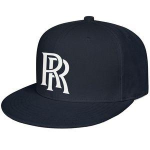 Rolls Royce Mens и Womens Snap Back Baseballcap Cool Blank Hip Hopflat Brimhats Символ Эмблема RR Blue Blue Adag