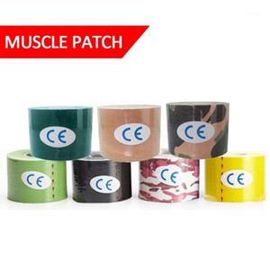 Elastic Tape Kinesiology Athletic Recovery Kneepad Sports Safety Relief Knee Pads Support Gym Fitness Bandage #ED1