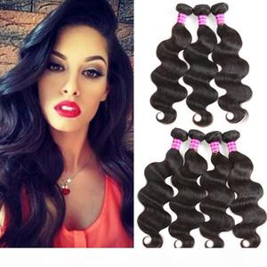 New Arrivals Raw Indian Virgin Hair Vendor Body Wave Human Hair Weaves Bundles 3 4 Unprocessed 8A Brazilian Virgin Hair Extensions Wefts