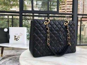 Echtes Leder Handtaschen 2021 Neue europäische und amerikanische Stil Kette Tasche Top Schicht Rindsleder Single Schulter Messenger Bag Mode Design