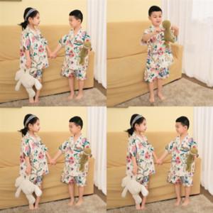Iyy Child Robe Flannel Детская халат Длинные рукава Детская ванна Халат Мультфильм Животные Дети Мальчики Девушки Пижамы Ребенок Халат