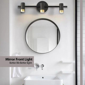 Adjustable Angle Modern Aluminum LED front mirror light bathroom makeup wall lamps vanity toilet wall mounted sconces lighting