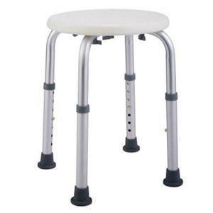 Nova Cadeira de Chuveiro Médica Cadeira Ajustável Banheira de Banheira Bancada Assento Banco Rodada