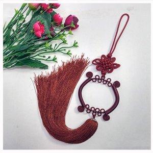 1PCS Guanyin Bassin Chinois Knot Tassel Diy Bijoux Rideau Veille Home Textile Accessoires Décoratifs Artisanat Pendentif H Jllkzf