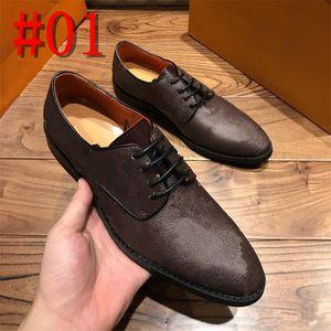 Diseñadores famosos italianos de alta calidad, zapatos planos de zapatos Oxfords de lujo Oxfords Zapato casual de cuero marrón negro Derby Zapatos de patente de patente