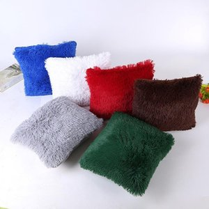 43*43 cm Square Cushion Hot Fashion Winter Sofa Waist Cushion Square Home Car Decor Decoration drop shipping #XT