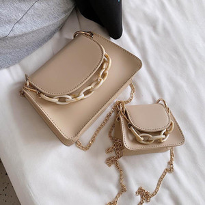 Handbags Bag Simple Shoulder Fashion Mini For Women 2021 Leather Chain Design PU Shoulder Female Bags Crossbody Xmgmx