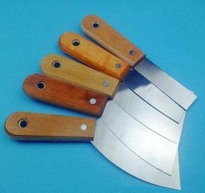 Wood Handle Putty Knife Scraper Blade Scraper Wall Plastering Hand Tool Carbon Steel Batch Knife For Const wmtCBG jjxh