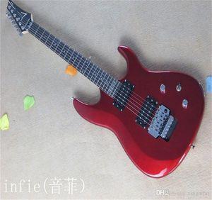 Ücretsiz kargo !! 2021 Yeni Varış + Yüksek Kalite + Joe Satrian Kırmızı JS Serisi JS20S Floyd Gül Elektro Gitar Stokta