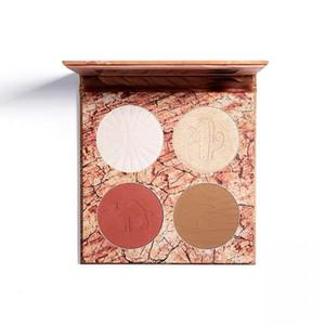 Top quality Newest makeup palette 4 color Desert Dust Contour Palette Bronzer Highlighter palette